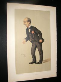Vanity Fair Print 1891 Edward Field